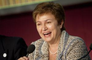 Kristalina Georgieva said COVID-19 is the world's biggest economic uncertainty.