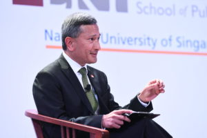 Singapore Foreign Minister Vivian Balakrishnan urges governments to prepare for the COVID-19 outbreak as it could last up to a year.