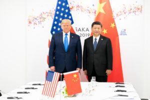 In a tweet, President Donald Trump said US and China are working closely together against COVID-19.