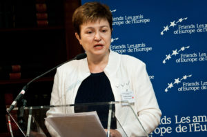 Kristalina Georgieva also expressed her delight seeing that world leaders are realizing that a coordinated effort can quell the effects of COVID-19.